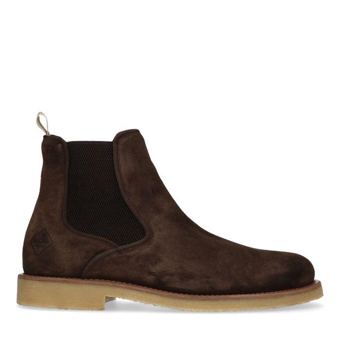 GANT Barkley donkerbruine chelsea boots