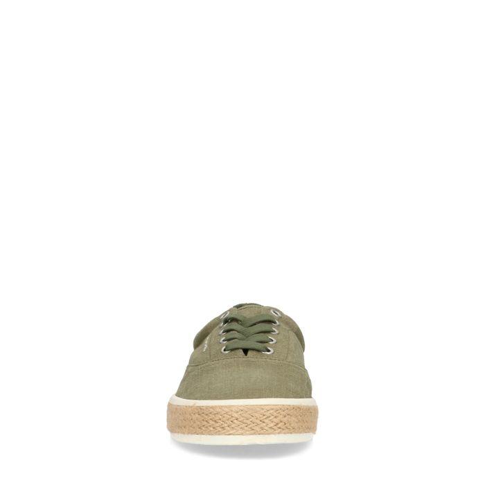 GANT Frenso groene veterschoenen