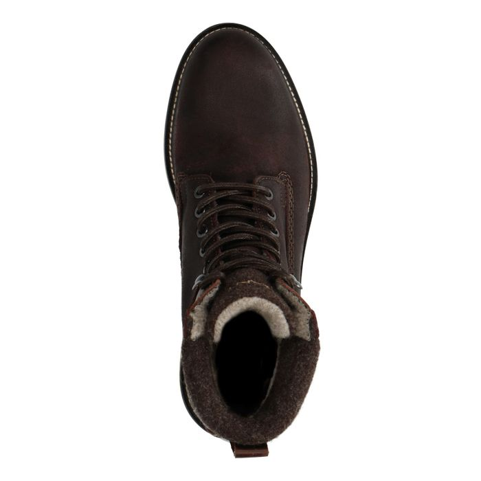 GANT Don Boots à lacets - marron foncé