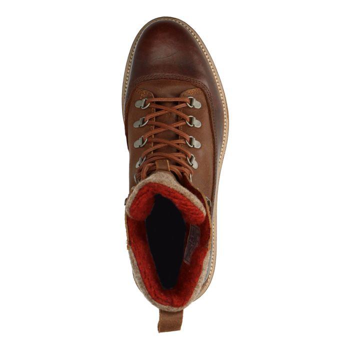 GANT Don Boots à lacets - cognac