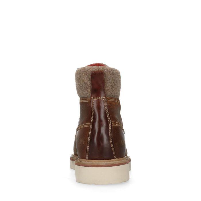 GANT Don Boots à lacets - marron