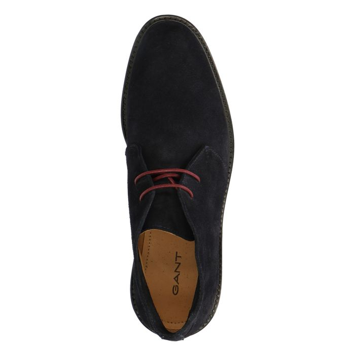 GANT Spencer Boots à lacets - bleu foncé
