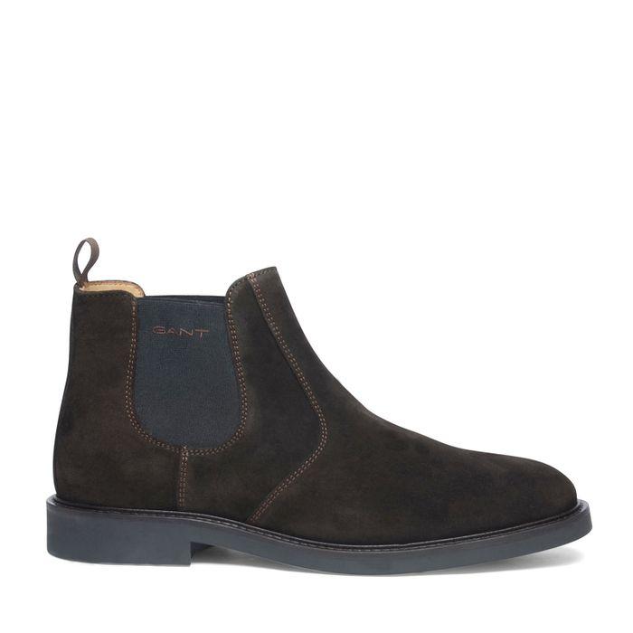 Chelsea boots GANT marron foncé