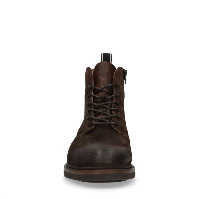 GANT Martin Boots à lacets - marron foncé