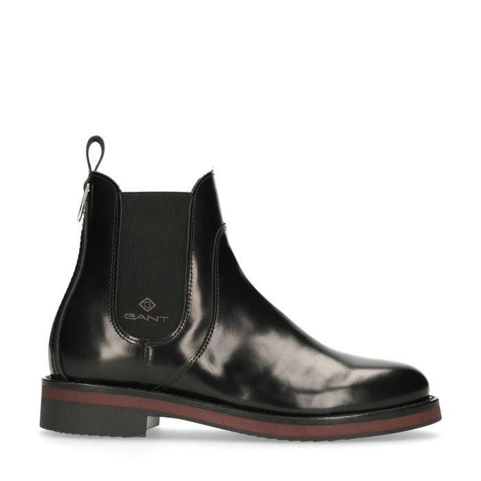 GANT Malin schwarze Chelsea Boots