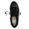 GANT Amanda schwarze Sneaker mit Kunstfell