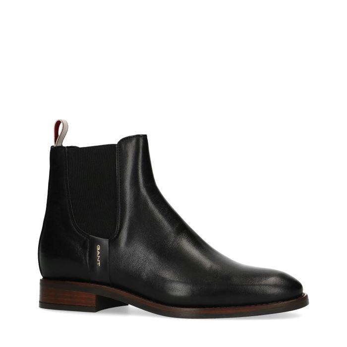 GANT Fay Schwarze Chelsea-Boots