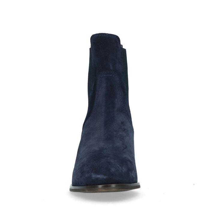 GANT Johanna dunkelblaue Chelsea Boots mit Absatz