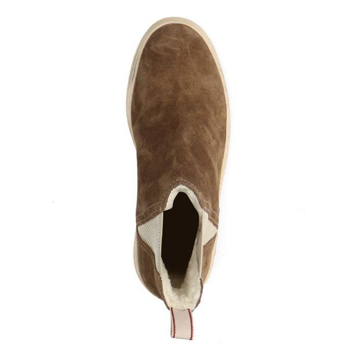 GANT Maria hellbraune Sneaker mit hohem Schaft