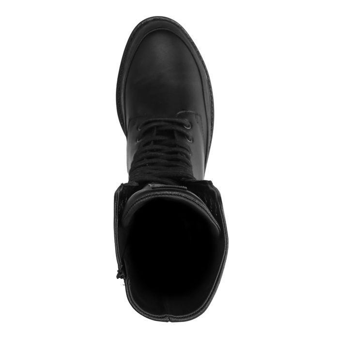 Greyder Lab schwarze Schnürstiefeletten