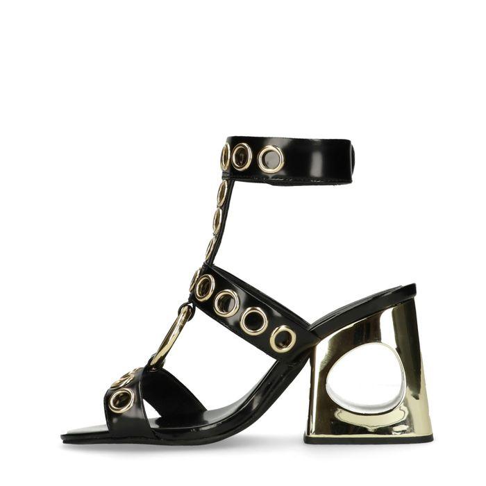 Jeffrey Campbell Bianka zwarte sandalen met hak