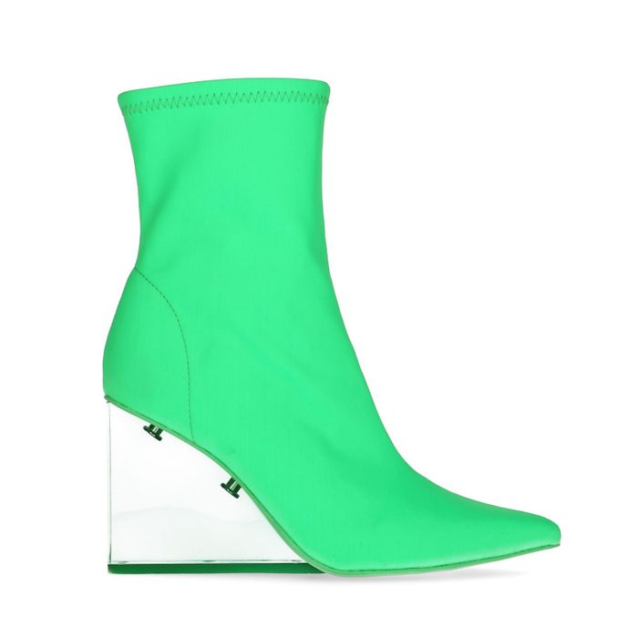 Jeffrey Campbell Siren sock boots groen