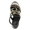 Sandales cuir à talon Jeffrey Campbell Bianka - noir