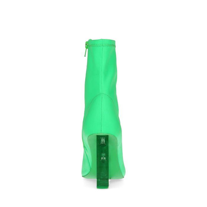 Jeffrey Campbell Siren Bottines-chaussettes textile - vert