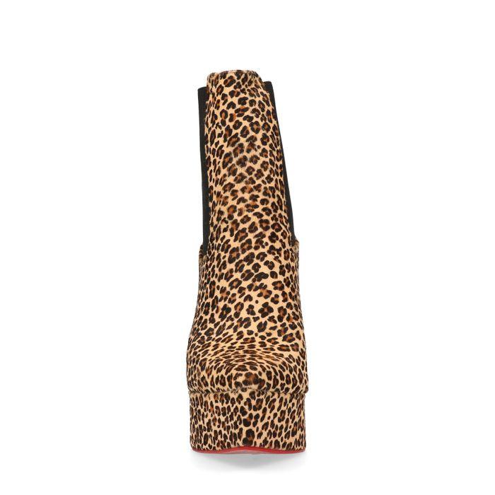 Jeffrey Campbell Stiefeletten mit Leopardenmuster