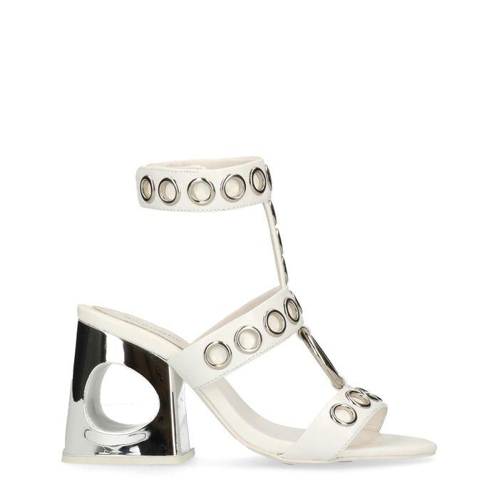 Jeffrey Campbell Bianka weiße Sandaletten