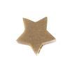 LUZ - pendentif étoile - doré