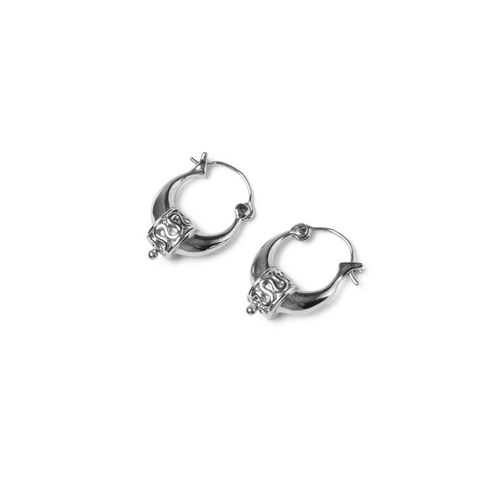 LUZ Boucles d'oreille bohémiennes - argenté