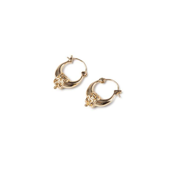 LUZ Boucles d'oreille bohémiennes - doré