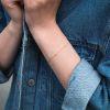 LUZ Bracelet pierre zirconium - argenté
