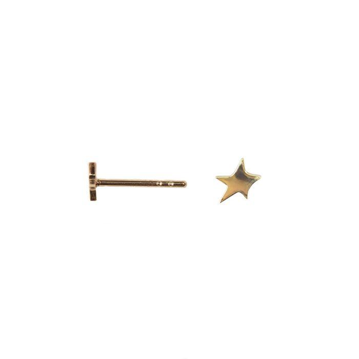 LUZ handmade Stern gold