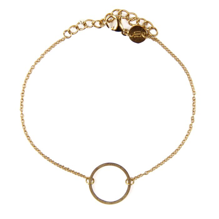 LUZ Circle of Joy-Armband gold
