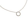 LUZ Circle of Joy -Kette gold