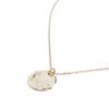 LUZ hammered coin ketting goud