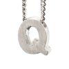 LUZ zilveren bedel letter Q