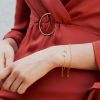 LUZ Circle of joy armband - goud