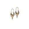 LUZ Boucles d'oreille tibétaines avec pointes - doré