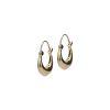 LUZ Boucles d'oreille épurées - doré