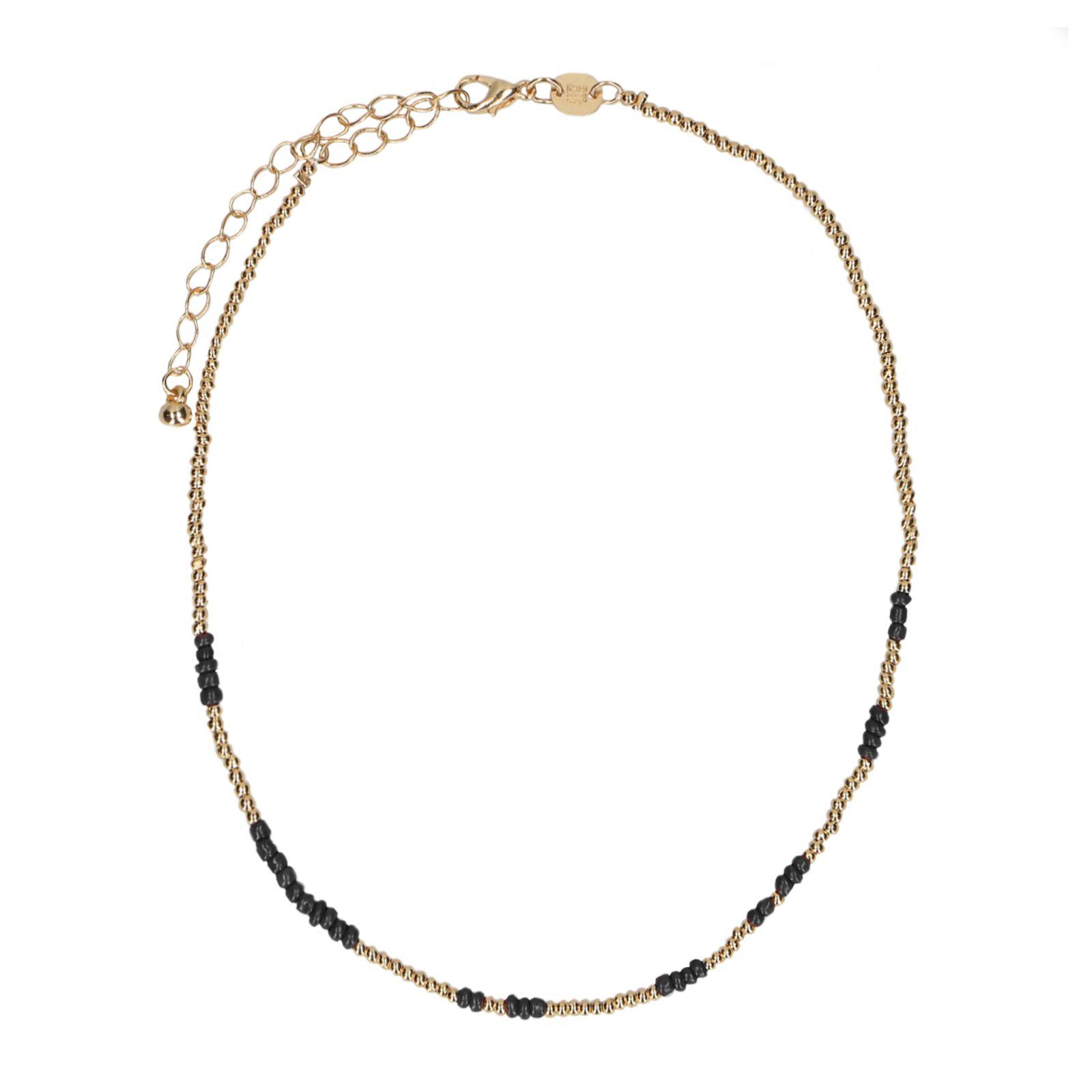 collier ras de cou une perle