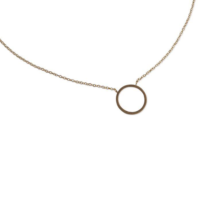 LUZ - Chaîne circle of joy - or