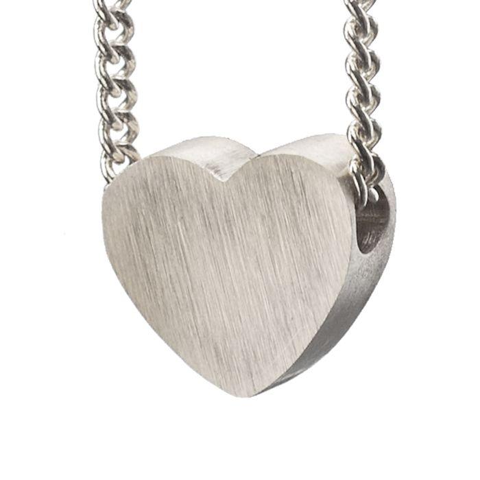 LUZ Herz-Anhänger silber