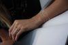 LUZ V-förmiges Armband silber