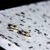 LUZ halve oorringetjes goud