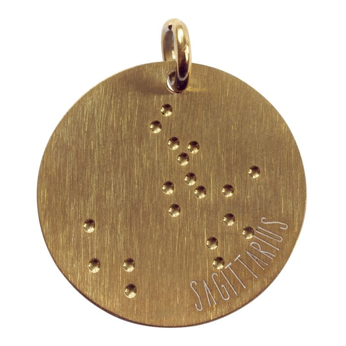 LUZ boogschut zodiac sky gold