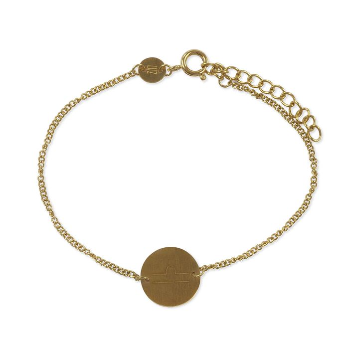 LUZ sterrenbeeld armband weegschaal