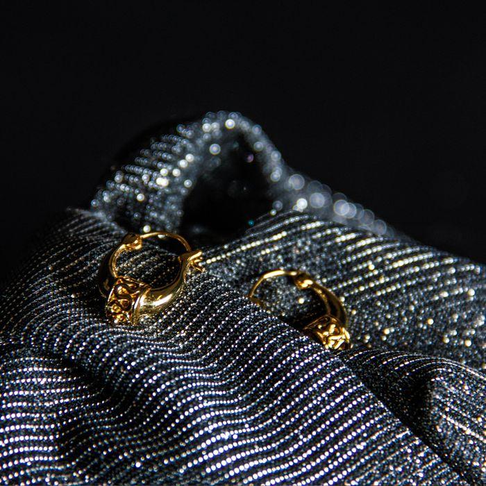 LUZ bohemian oorbellen zilver