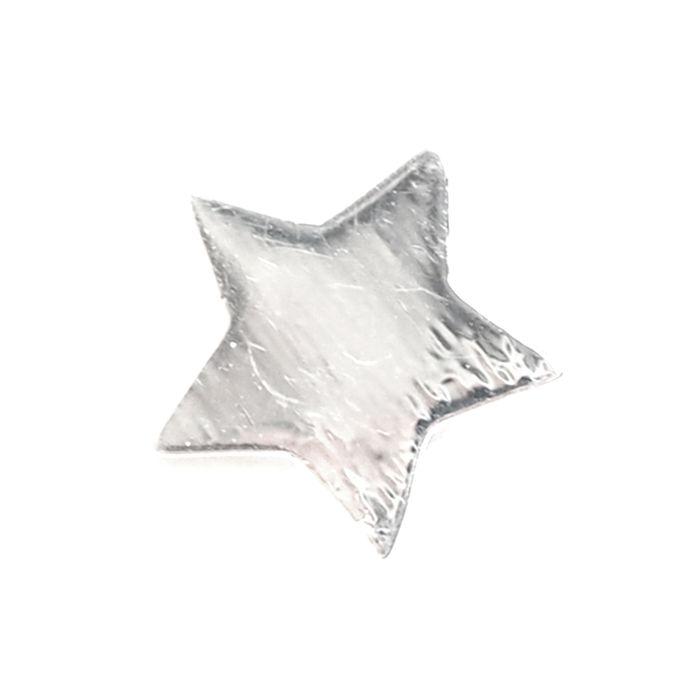 LUZ zilveren ster bedel