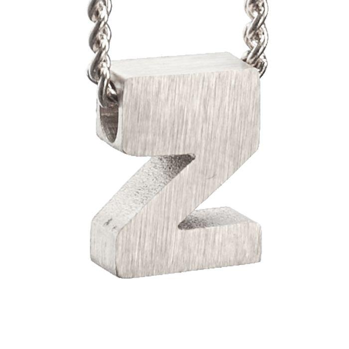 LUZ zilveren bedel letter Z