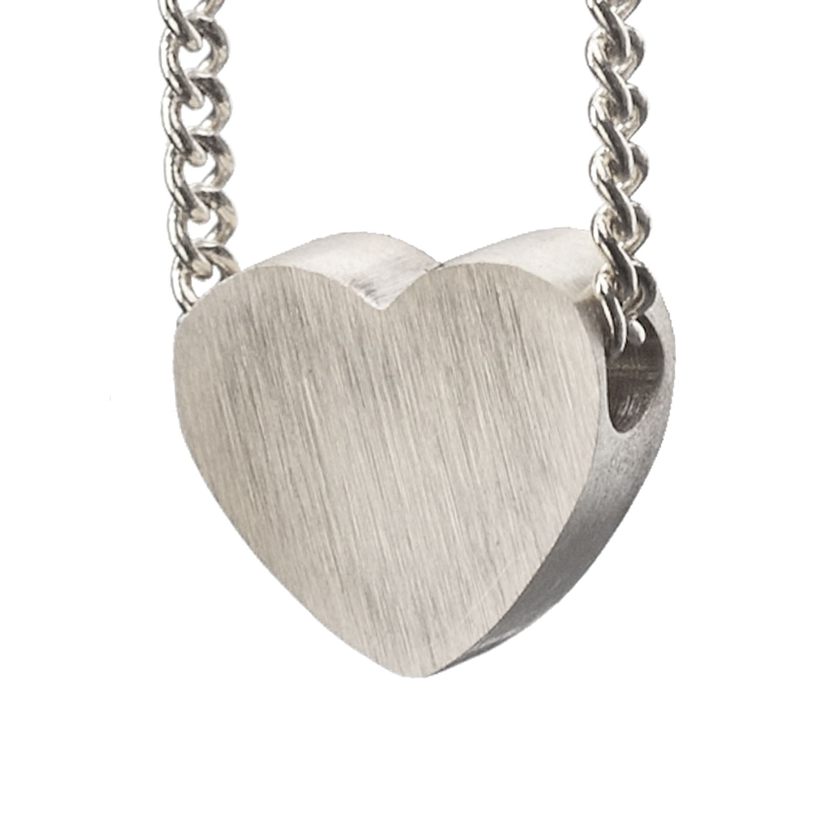 LUZ zilveren hartjes bedel