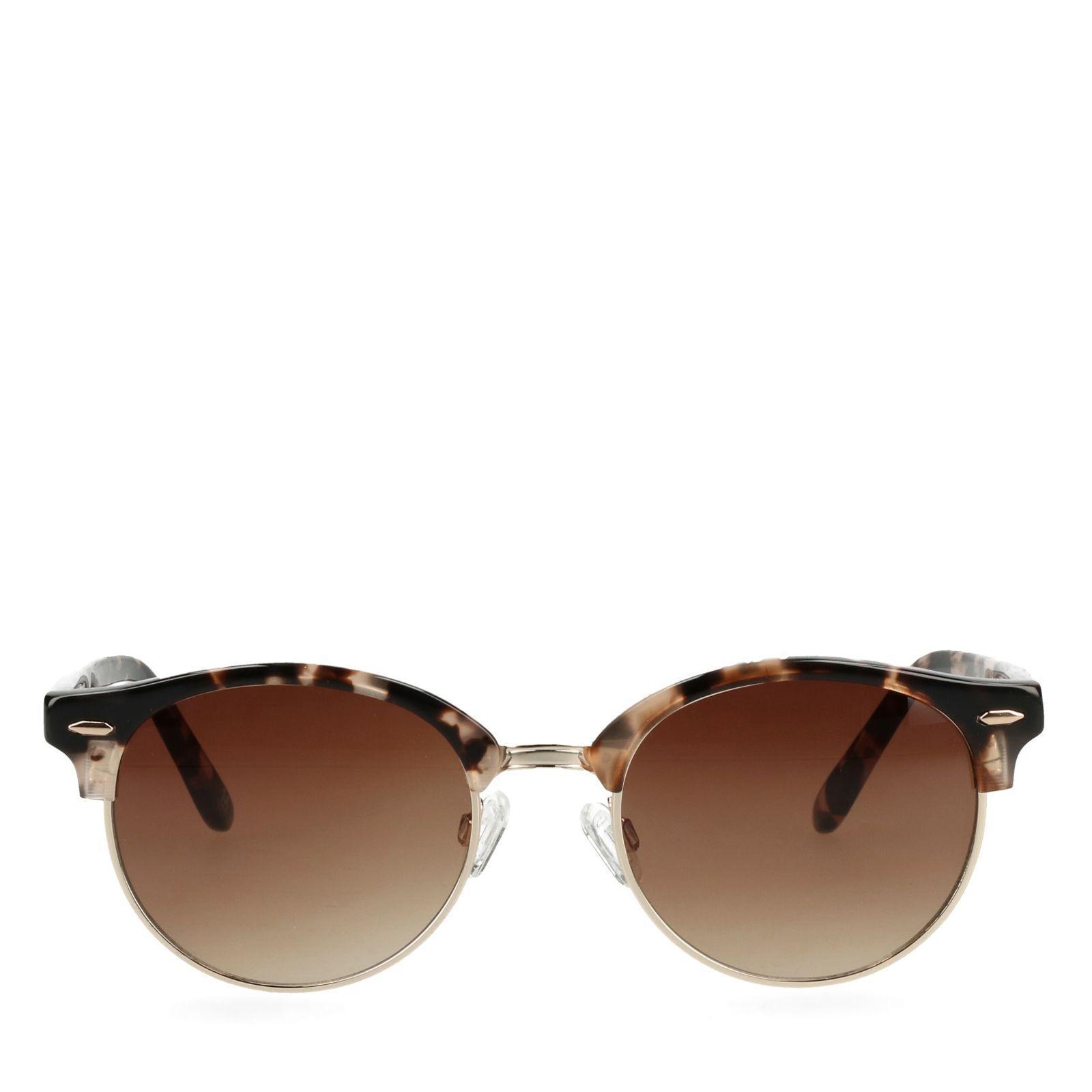Braune Retro-Sonnenbrille (Onesize) Tn3BpvAHpJ