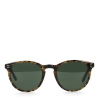 1418e9c56e0511 Manfield Donkerbruine tortoise zonnebril € 39