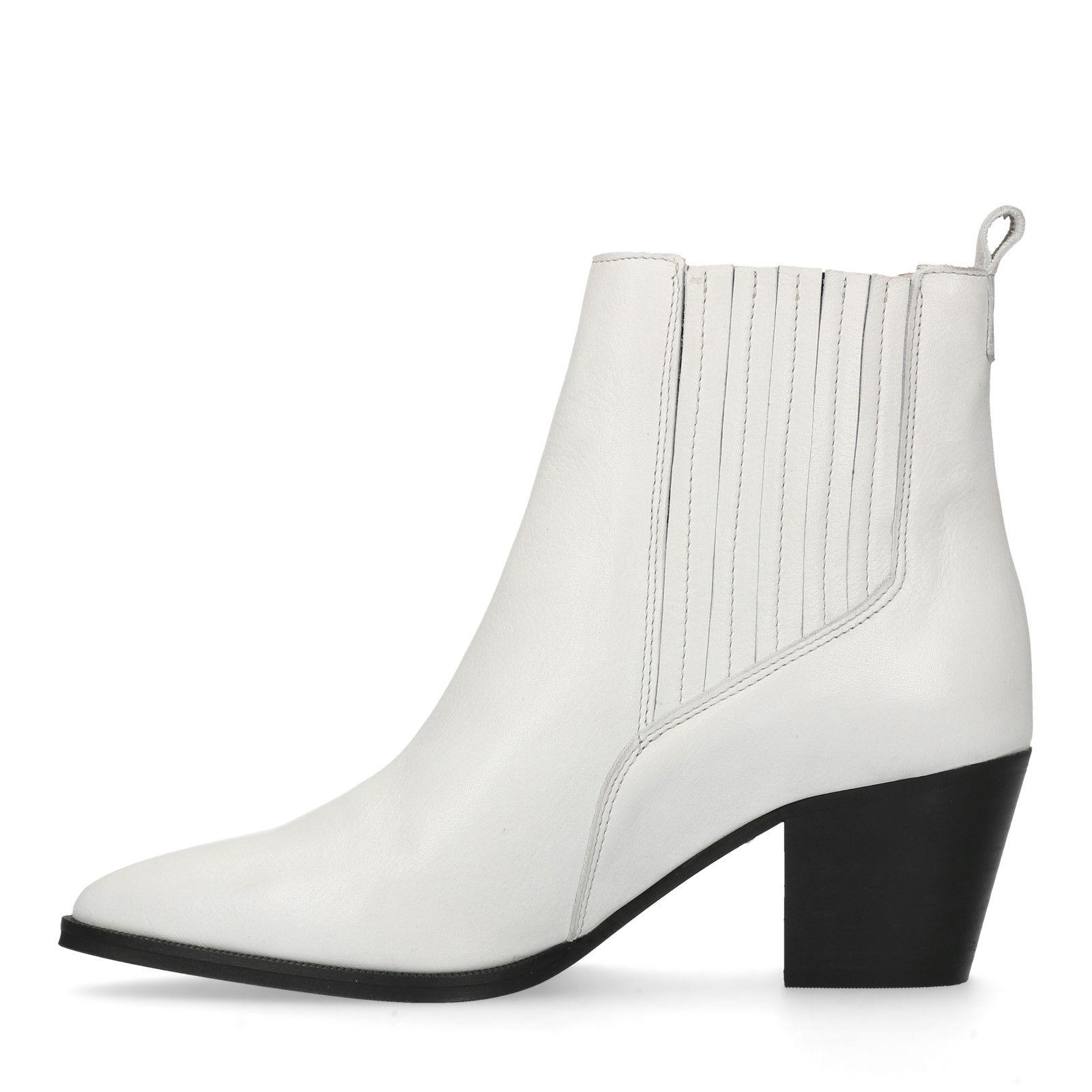 Weiße Stiefeletten jetzt im Online Shop kaufen