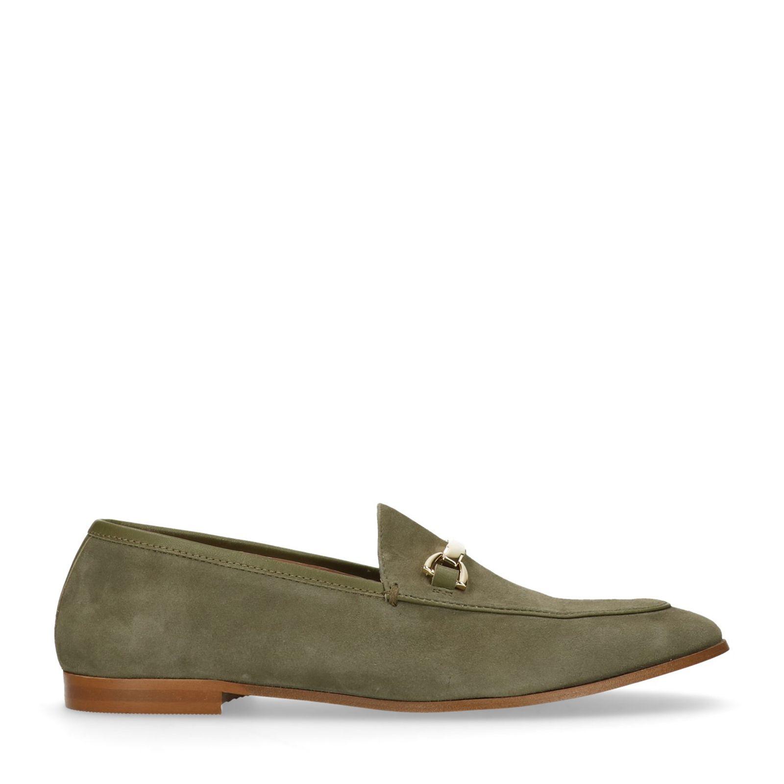 Grüne Veloursleder-Loafer (37 Kaufen Zum Verkauf AF6n9STk
