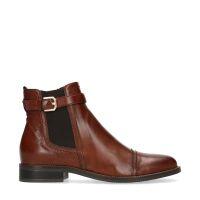 a42c8b016a3030 20% Manfield Cognacfarbene Chelsea Boots mit Schnalle € 119