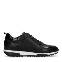 7b3fc4dbdad Manfield Zwarte sneakers met zebraprint detail € 129, Shop nu >