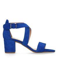 c5b111f45f6 sale Manfield Blauwe sandalen met hak € 89, € 69, Shop nu >
